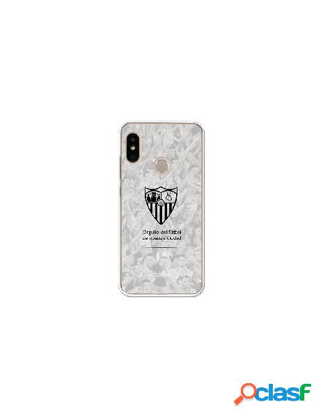 Carcasa Oficial Sevilla FC orgullo para Xiaomi Mi A2 Lite