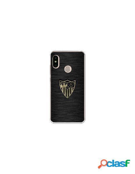 Carcasa Oficial Sevilla FC oro para Xiaomi Mi A2 Lite