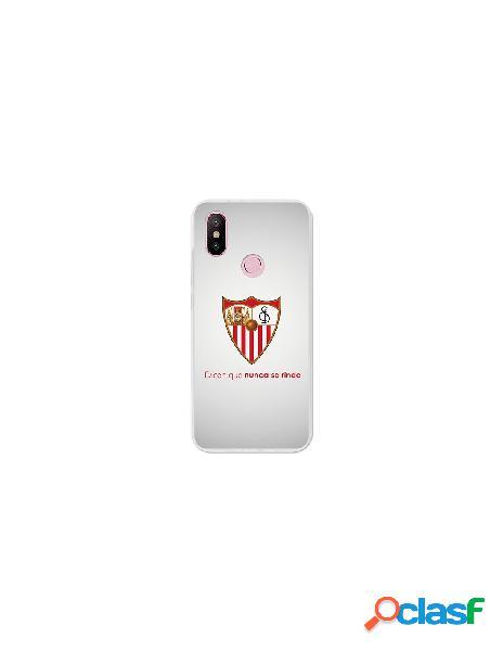 Carcasa Oficial Sevilla FC retro para Xiaomi Mi 6X