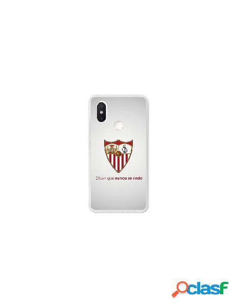 Carcasa Oficial Sevilla FC retro para Xiaomi Mi 8 SE