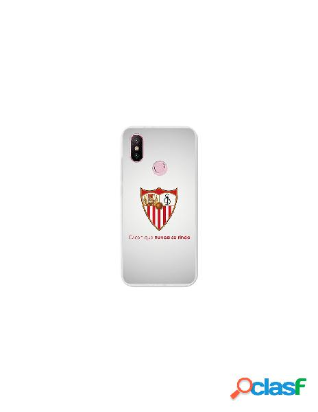 Carcasa Oficial Sevilla FC retro para Xiaomi Mi A2
