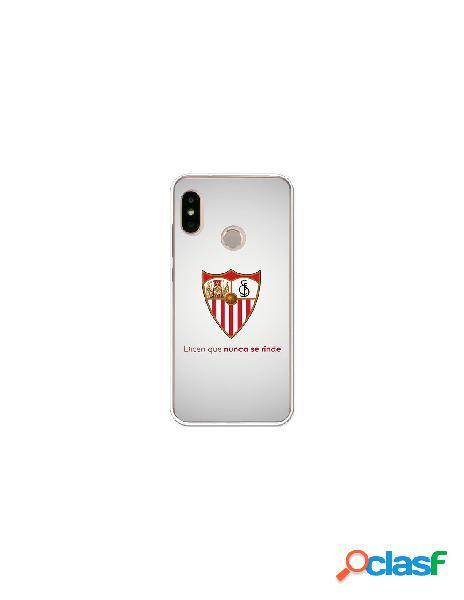 Carcasa Oficial Sevilla FC retro para Xiaomi Mi A2 Lite