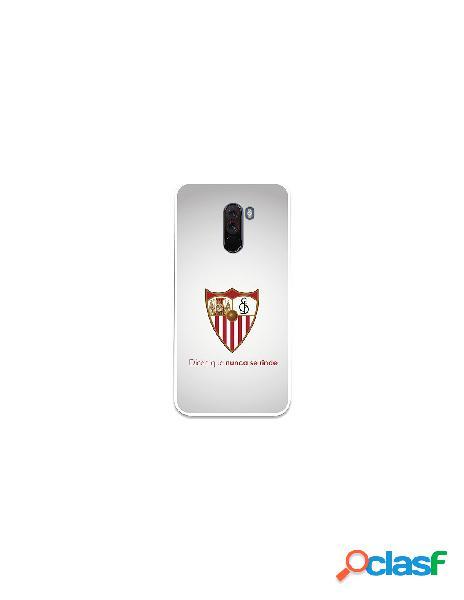 Carcasa Oficial Sevilla FC retro para Xiaomi Pocophone F1
