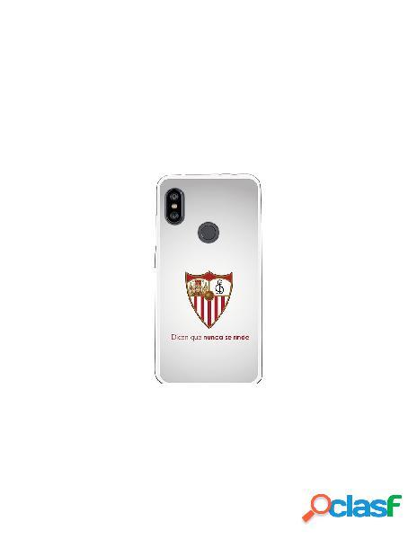 Carcasa Oficial Sevilla FC retro para Xiaomi Redmi Note 6