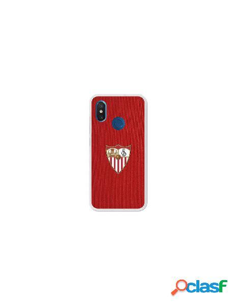 Carcasa Oficial Sevilla FC rojo para Xiaomi Mi 8