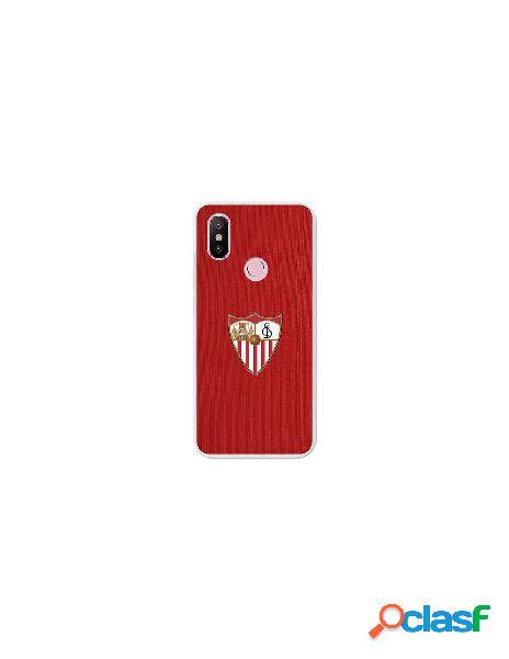 Carcasa Oficial Sevilla FC rojo para Xiaomi Mi A2