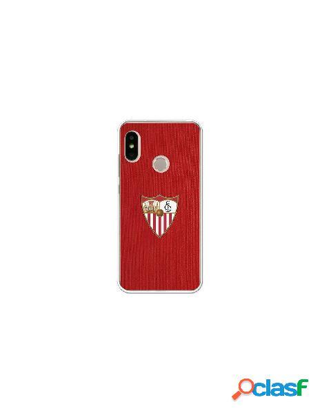 Carcasa Oficial Sevilla FC rojo para Xiaomi Mi A2 Lite