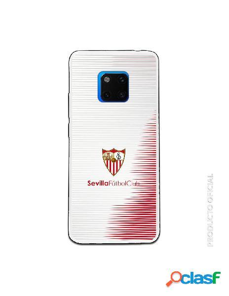 Carcasa Oficial Sevilla retro rayas blancas y rojas SS18-19