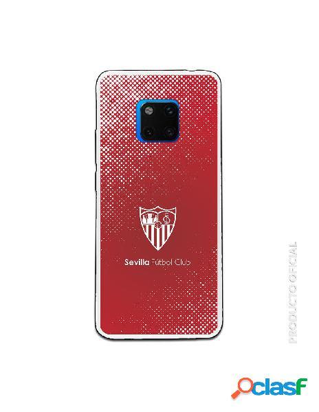 Carcasa Oficial Sevilla trama y escudo blanco SS18-19 para