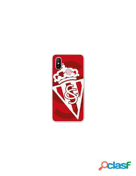 Carcasa Oficial Sporting blanco sobre rojo Xiaomi Mi 6X