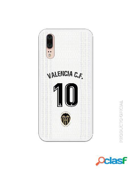 Carcasa Oficial Valencia 10 1ª Eq SS18-19 Huawei P20