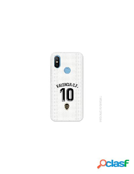 Carcasa Oficial Valencia 10 1ª Eq SS18-19 Xiaomi Mi 6X