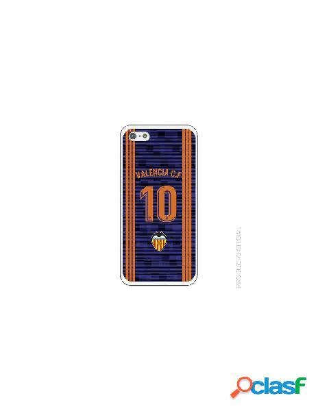 Carcasa Oficial Valencia 10 2ª Eq SS18-19 iPhone SE