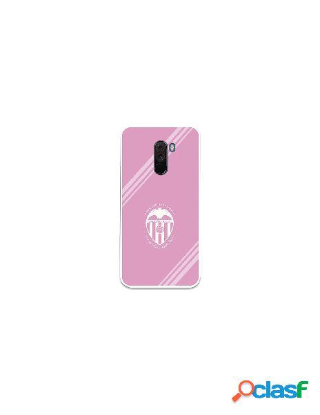 Carcasa Oficial Valencia CF Escudo blanco Xiaomi Pocophone