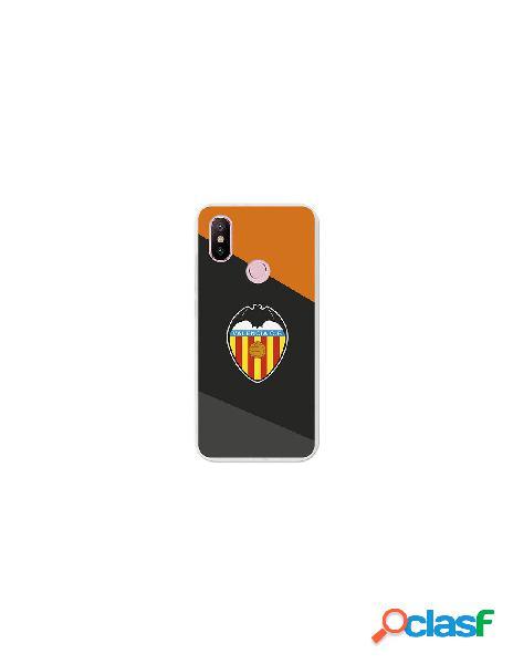 Carcasa Oficial Valencia CF Negro Xiaomi Mi 6X