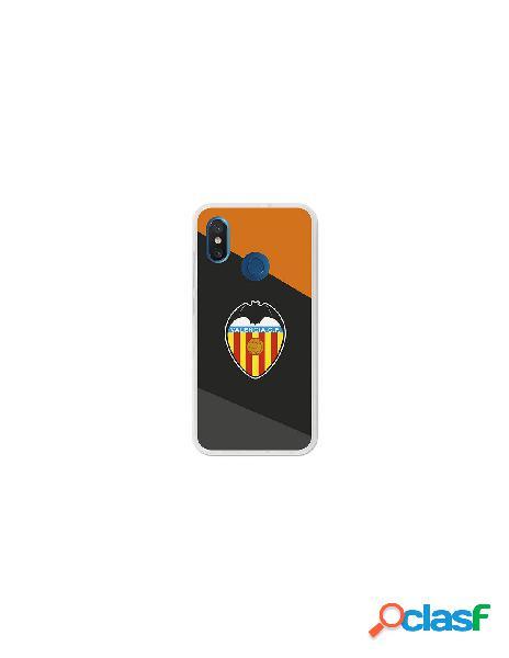 Carcasa Oficial Valencia CF Negro Xiaomi Mi 8