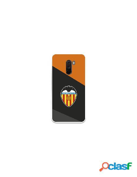 Carcasa Oficial Valencia CF Negro Xiaomi Pocophone F1