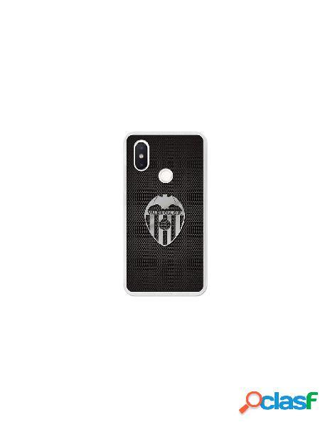 Carcasa Oficial Valencia CF plata Xiaomi Mi 8 SE
