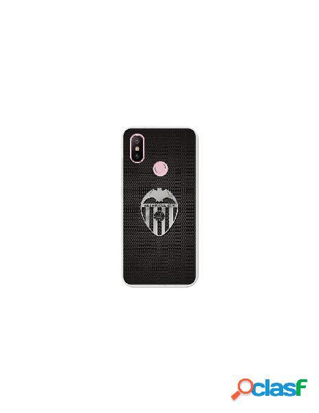 Carcasa Oficial Valencia CF plata Xiaomi Mi A2