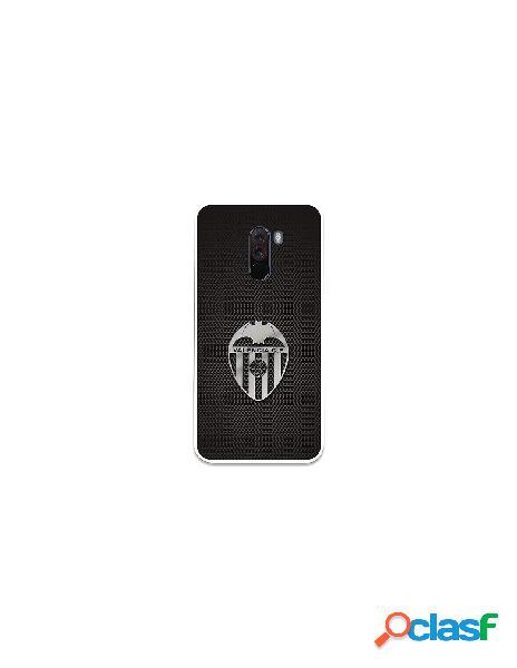 Carcasa Oficial Valencia CF plata Xiaomi Pocophone F1