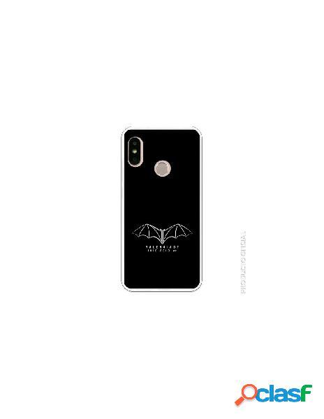 Carcasa Oficial Valencia Murcielago plata SS18-19 Xiaomi Mi