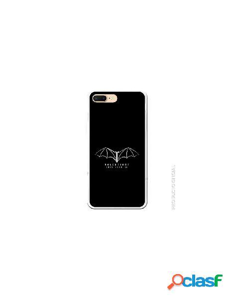 Carcasa Oficial Valencia Murcielago plata SS18-19 iPhone 8