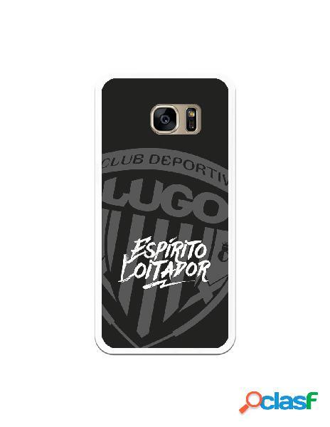 Carcasa para Samsung Galaxy S7 Edge del Lugo Negro Espirito