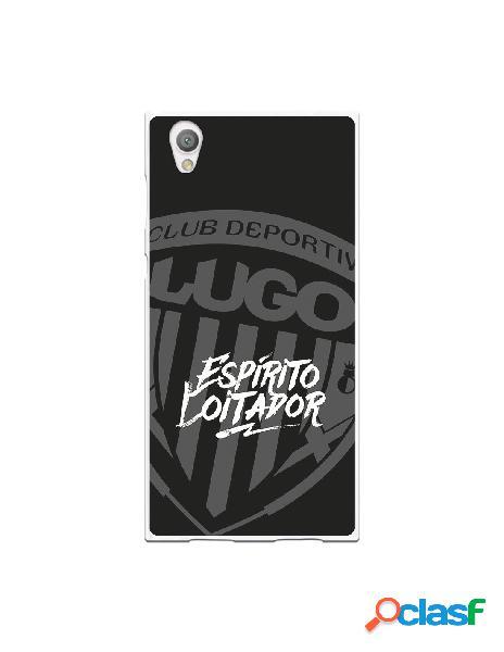 Carcasa para Sony Xperia L1 del Lugo Negro Espirito Loitador
