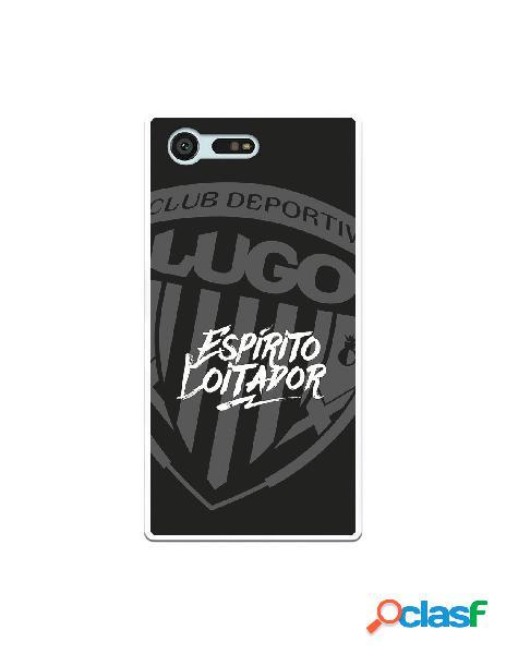 Carcasa para Sony Xperia X Compact del Lugo Negro Espirito