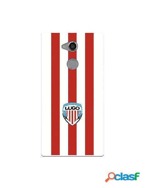 Carcasa para Sony Xperia XA2 Ultra del Lugo Roja y Blanca -