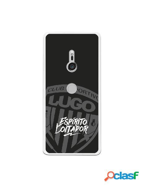 Carcasa para Sony Xperia XZ3 del Lugo Negro Espirito