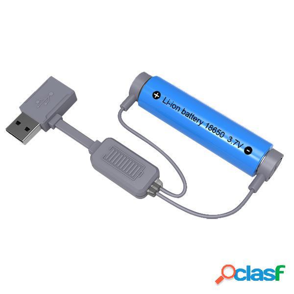 Cargador de Batería de Li-ion Portátil Magnético Mini
