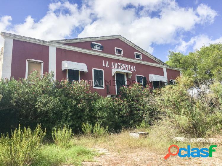 Casa de campo en venta en la Argentina, Menorca