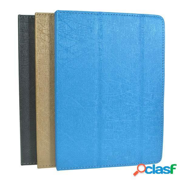 Caso folio cuero de la PU-tir veces para onda tableta aire