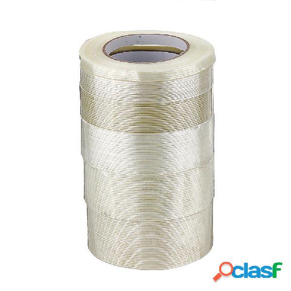 Cinta adhesiva de cinta de fibra transparente de alta