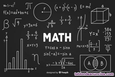 Clases particulares de matemáticas online (1º clase