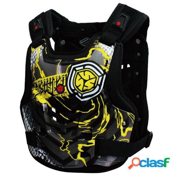 Cofre de motocicleta y protector de espalda Armor para
