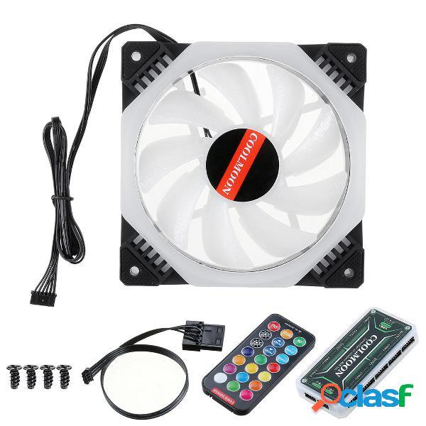Computadora PC Enfriador Ventilador de enfriamiento RGB LED