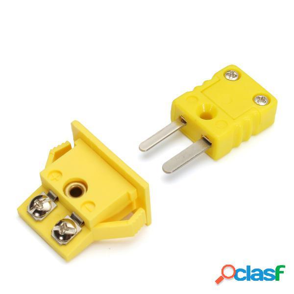 Conector de Ecnhufe en Miniatura para Par Termoeléctrico de