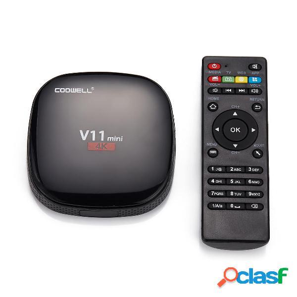 Coowell V11 Mini RK3229 1GB RAM 8GB ROM Caja de TV