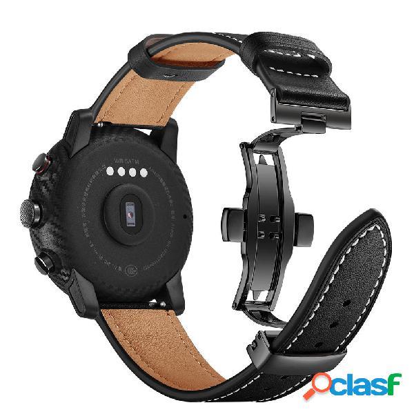 Correa de reloj de cuero de capa superior Banda para Xiaomi