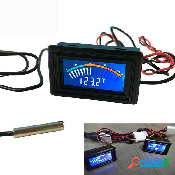 DC 5-25V Termómetro Medidor digital de temperatura Pantalla