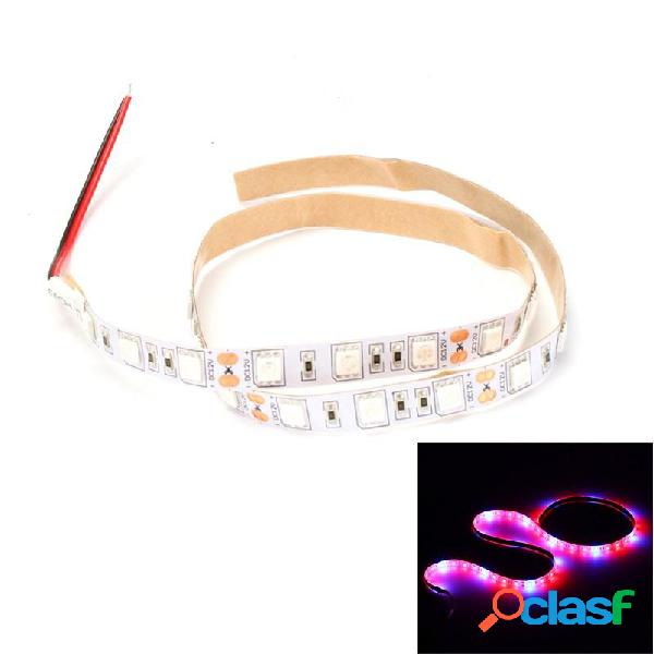 DC12V 0.5M Non-waterproof SMD5050 Red: Blue 4: 1 5: 1 Full