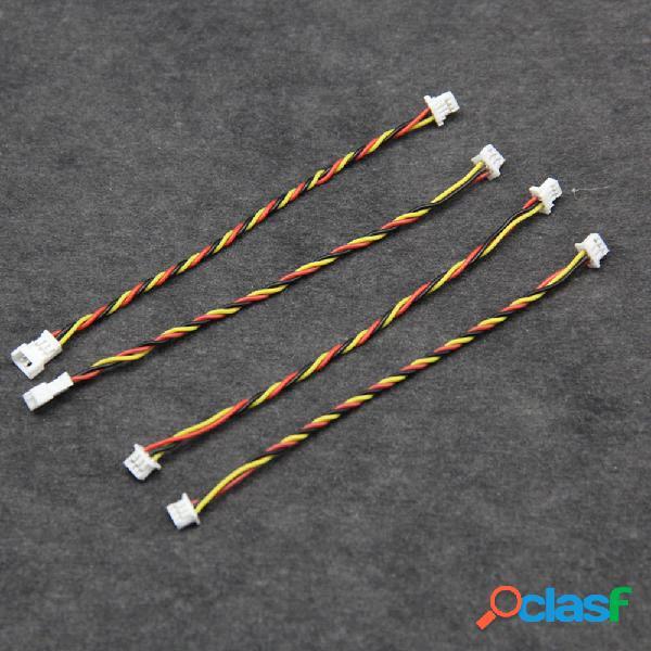 DIY 1.25mm Cable de adaptador de conector hembra macho de 3