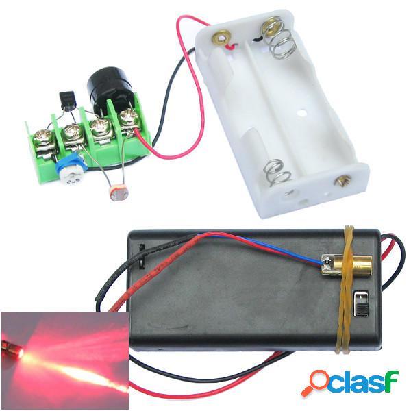 DIY Infrarrojo Láser Kit de módulo de alarma antirrobo con