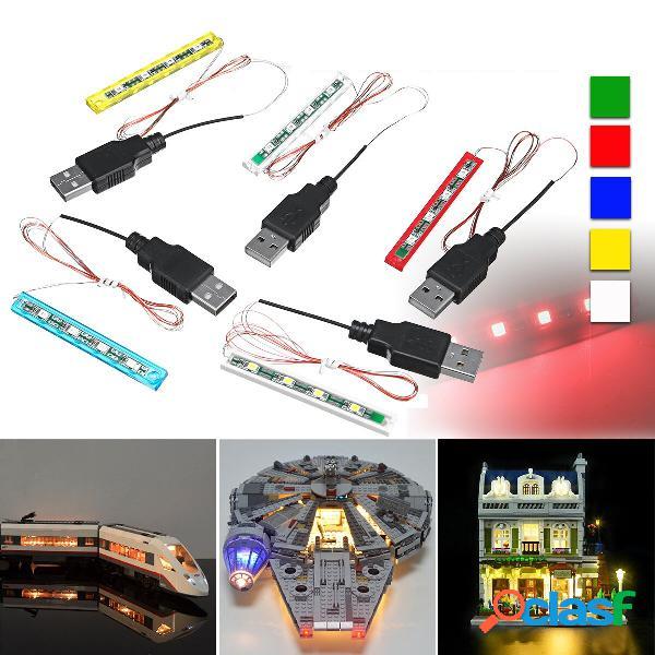 DIY Universal luz LED Kit de iluminación para LEGO Toys