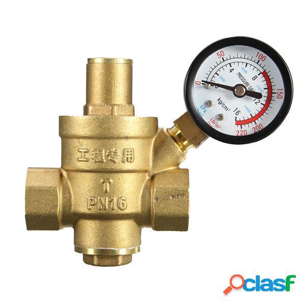 DN15 1/2 Inch Regulador reductor de presión de agua de