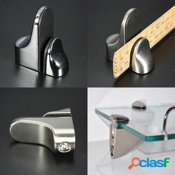 De metal estante ajustable soporte de soporte para vidrio o