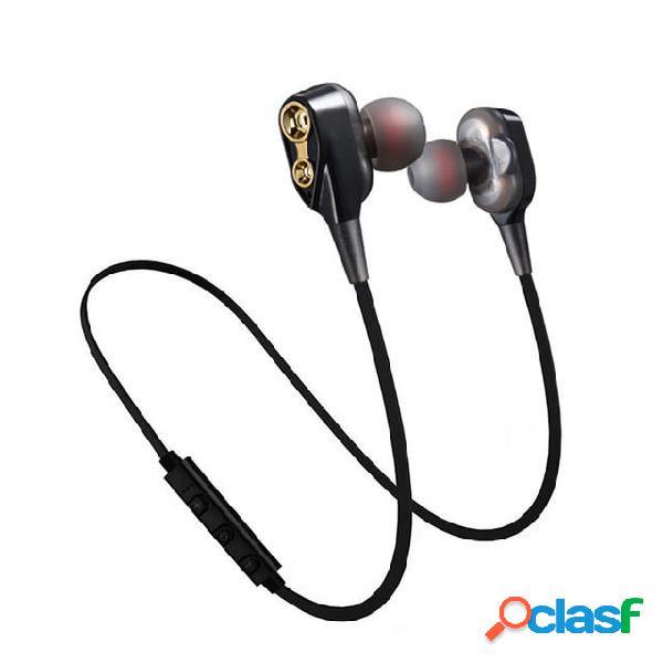 Doble Dinámico Bluetooth Auricular Estéreo Inalámbrico