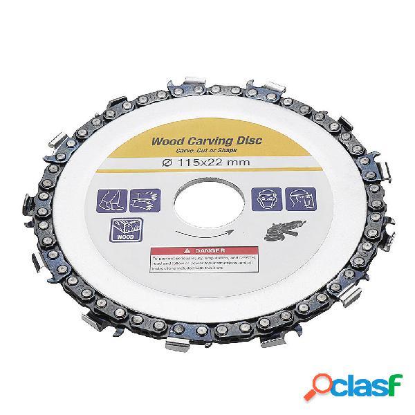 Drillpro 4-1 / 2 Inch Disco de cadena de la amoladora 22mm